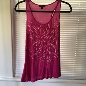 Cupico Tank With embroidery detail